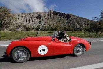 Jaguar XK - La Gran Carrera - Salta